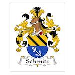 Schmitz Family Crest  Small Poster