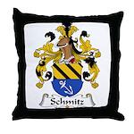 Schmitz Family Crest  Throw Pillow