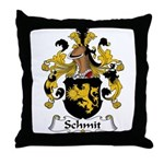 Schmit Family Crest  Throw Pillow