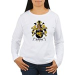 Schmit Family Crest  Women's Long Sleeve T-Shirt
