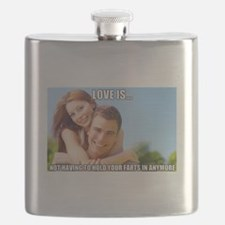 Funny Fart Flask