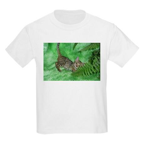 Bengal Kitten Kids Light T-Shirt