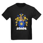 Schmeling Family Crest Kids Dark T-Shirt