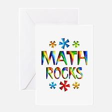 Math Rocks! Greeting Card