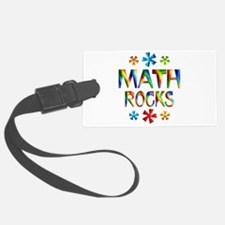 Math Rocks! Luggage Tag