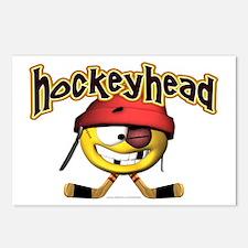 HockeyHead... Postcards (Package of 8)