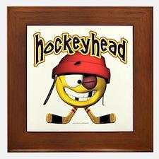 HockeyHead... Framed Tile