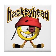 HockeyHead... Tile Coaster