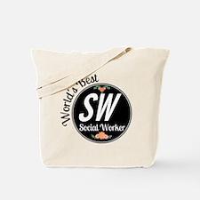 World's Best Social Worker Tote Bag
