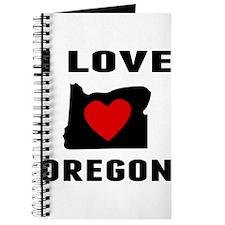 I Love Oregon Journal
