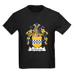 Schlieben Family Crest Kids Dark T-Shirt