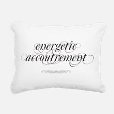 Energetic Accoutrement Rectangular Canvas Pillow