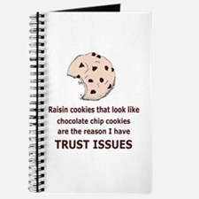 Funny Chocolate chip cookies Journal
