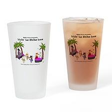 Prom 2015: Livin' La Shiba Loca Drinking Glass