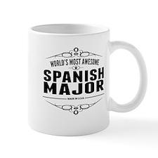 Worlds Most Awesome Spanish Major Mugs