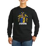 Schleicher Family Crest Long Sleeve Dark T-Shirt
