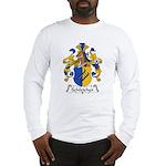 Schleicher Family Crest Long Sleeve T-Shirt