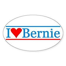 I Heart Bernie Sticker (oval)