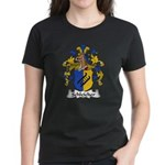 Schleicher Family Crest Women's Dark T-Shirt