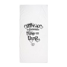 Cute Scientists and mathematicians Beach Towel