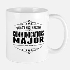 Worlds Most Awesome Communications Major Mugs