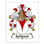 Schleich Family Crest Small Poster