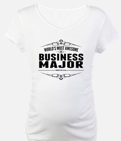 Worlds Most Awesome Business Major Shirt