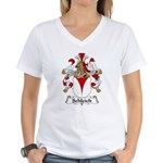Schleich Family Crest Women's V-Neck T-Shirt