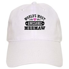World's Most Awesome MeeMaw Baseball Cap