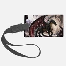 Dragon In Cave Luggage Tag