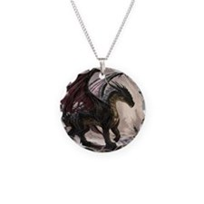 Dragon In Cave Necklace