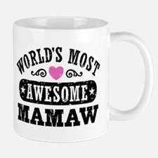 World's Most Awesome MaMaw Mug