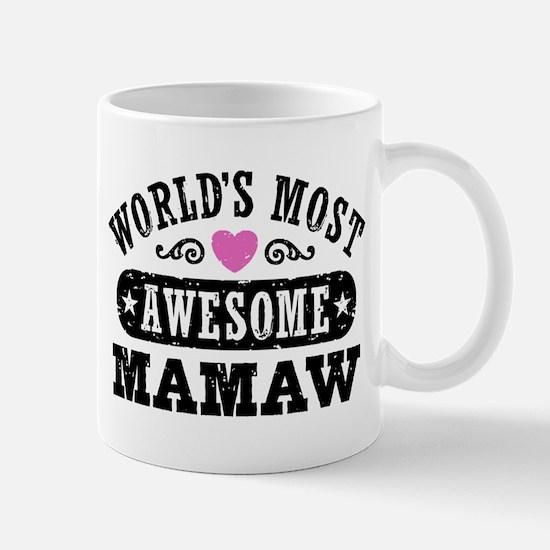 World's Most Awesome MaMaw Mug