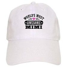 World's Most Awesome Mimi Baseball Cap