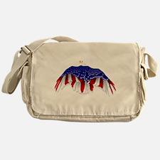 American Eagle Flag Messenger Bag