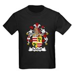 Schlaff Family Crest Kids Dark T-Shirt