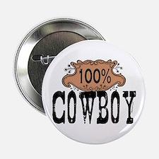 100% Cowboy Button
