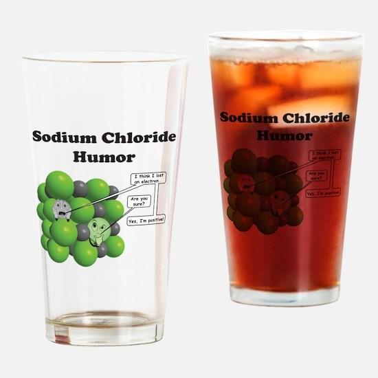 Cute Nerd Drinking Glass