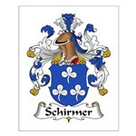 Schirmer Family Crest Small Poster
