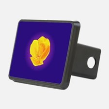 Yellow Poppy Hitch Cover