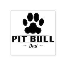 Pit Bull Dad Sticker