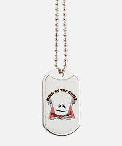 Chef Hat and BBQ Tools Dog Tags