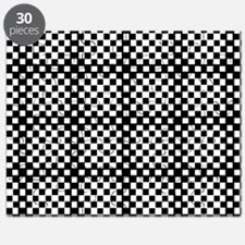Optical Illusion Checkerboard Puzzle