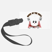 Chef Hat and BBQ Tools Luggage Tag