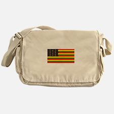 Rasta Stars n Stripes Messenger Bag