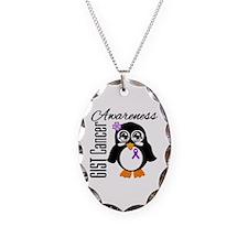 GIST Cancer Penguin Necklace