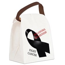 Melanoma Awareness Canvas Lunch Bag