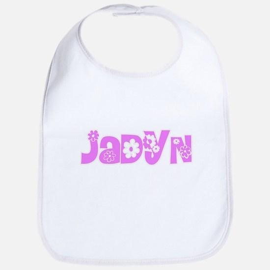 Jadyn Flower Design Baby Bib