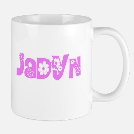Jadyn Flower Design Mugs