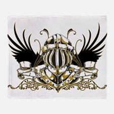 goldenknight1.png Throw Blanket